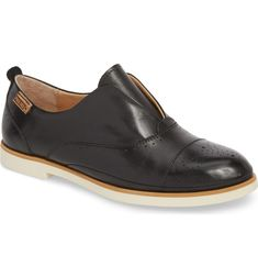 Pyrgos Oxford, Main, color, Black Leather