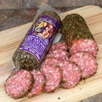 Traditional Busseto Dry Cured Salami -8 ounces-French Herbs, ,