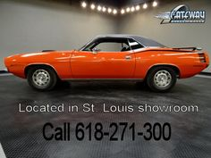 1970 Plymouth  Cuda   - Stock #5561-STL