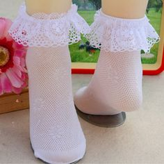 Cheap baby girl socks, Buy Quality socks infant directly from China girl baby socks Suppliers: Comfy Cotton Baby Girls Socks Infant Toddler Breathable Lace Frilly Solid Socks Baby Girl Socks, Girls Socks, Baby Girls, Frilly Socks, Alice In Wonderland Costume, China Girl, Girl Outfits, Infant Toddler, Flower Girl Dresses