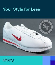 best service 14711 6447a NIKE CORTEZ BASIC JEWEL QS TZ 938343-100 RUBY RED WHITE UNIVERSITY RED SZ   10.5
