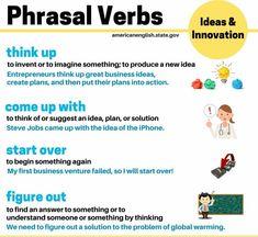Americanenglish.state.gov|Phrasal Verbs Infographic