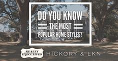 Do You Know the Most Popular Home Styles?