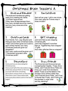 Image result for Printable Christmas Riddles for Adults