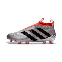 Adidas ACE - дешево футбольные бутсы Adidas ACE 16 Purecontrol FG-AG  серебро оранжевый 8ff3f522665