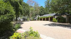 Inside Reese Witherspoon's Ojai Estate - The Drive-way