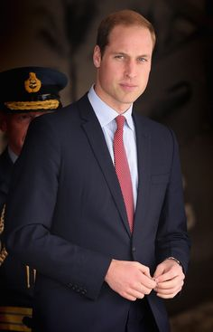 Prince William, Duke of Cambridge visits the Air Force Museum at Wigram on April 14, 2014 in Christchurch, New Zealand.