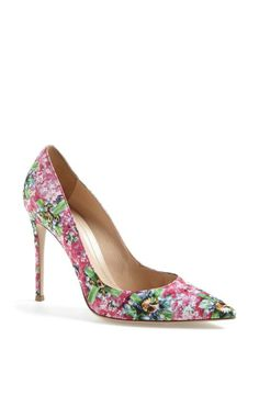Pretty pump for Valentine's Day