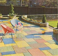 Retro Pennine paving in 1971. How times have changed since the 70's.