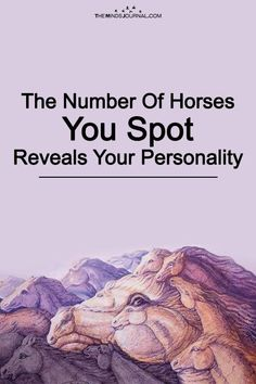 The Number Of Horses You Spot Reveals Your Personality - https://themindsjournal.com/number-of-horses-personality/