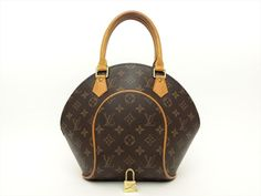 Louis Vuitton Authentic Monogram Ellipse PM Hand Bag Purse Auth LV #LouisVuitton #Satchel
