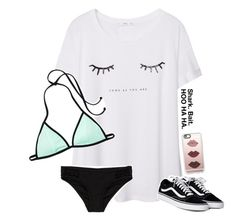 """""""Spent the evening at the pool with the squad XD"""" by graciegirl2015 ❤ liked on Polyvore featuring MANGO, Seafolly, Casetify, needsummer, squadgoals, litpeeps and reallyneedatan"""