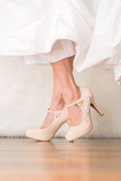 Nude Wedding Shoes - Bridal Shoes c67f4c448512