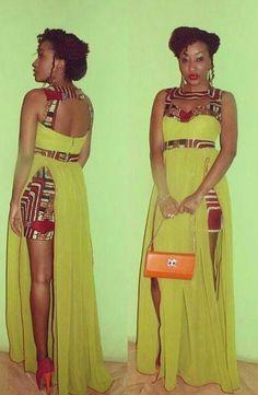 African Dresses Ankara Design - DeZango Fashion Zone