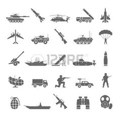 army icon: Military icons