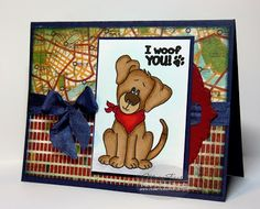 Sweet 'n Sassy Stamps: I Woof You ~