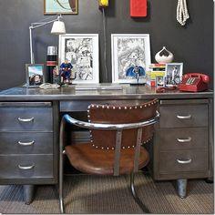 Diy Paint Tanker Metal Desk   Google Search