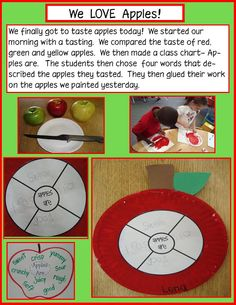Golden Gang Kindergarten: Apples! Free Writing Activity