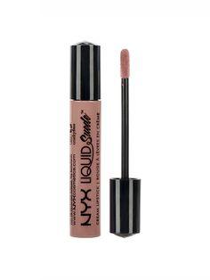NYX Cosmetics Liquid Suede Lipstick in Soft Spoken