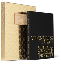 BOOK: Visionaire No Private, edited by designer Marc Jacobs with photos by Mert Alas and Marcus Piggott, in a limited edition box from Louis Vuitton. Fashion Coffee Table Books, Coffee And Books, Fashion Books, Packing Box Design, Identity, Silver Wallpaper, Catalog Cover, Buch Design, Colors