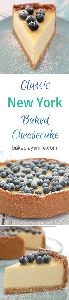 Tips, tricks and a yummy classic New York baked cheesecake recipe! This is one of our most popular posts!