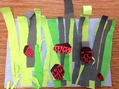 The Artsy Fartsy Art Room: Ladybugs in Kindergarten