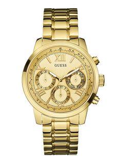 Sunrise Gold-Tone Watch