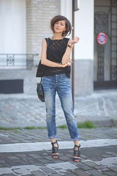 58 Brilliant Casual Style Looks To Look Cool - Global Outfit Experts Summer Outfits, Casual Outfits, Fashion Outfits, Womens Fashion, Fashion Trends, Zoe Fashion, Looks Style, Casual Looks, Lookbook Mode