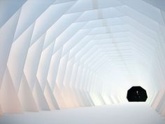 retractable tunnel inside view