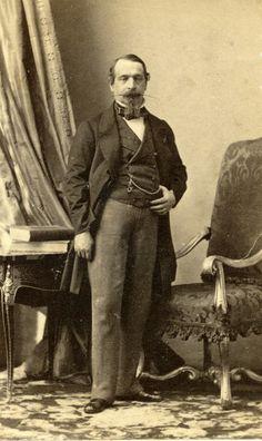 André Adolphe Eugène Disderi - Emperor Napoleon III, 1858