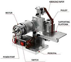 Small DIY Polishing Machine – Pretty Little Deal Store Mini Diy, Belt Grinder, Turning Tools, Grinding Machine, High Speed Steel, Cnc Machine, Diy Tools, Hobby Tools, Multifunctional
