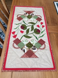 Some of our wonderful quilting and textiles projects you have been inspired to make - then find out how to do them with our video tutorials at Justhands-on. English Paper Piecing, Some Ideas, Project Yourself, Show And Tell, Love Is All, Table Runners, Tuesday, Label, Presents