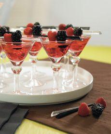 Mini martini glasses.  Do I sense a martini tasting party in the near future?