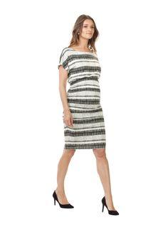 Larch Maternity Print Dress, Isabella Oliver $195