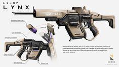 ArtStation - LX-07 LYNX, Benedict Neoh
