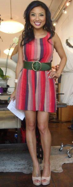 Jeannie d red dress dash