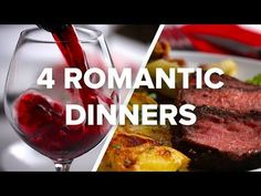 4 Romantic Dinners For Date Night - YouTube