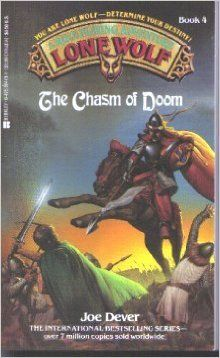 Chasm Of Doom (Lone Wolf, No 4): Joe Dever, Gary Chalk: 9780425084199: Amazon.com: Books