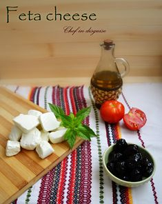 Feta cheese is a type of Greek cheese that is pickled or brined. The brining process gives feta cheese its characteristic salty, tangy flavor and a crumbly consistency. Feta cheese can be served . Homemade Yogurt, Homemade Cheese, Greek Cheese, Eastern Cuisine, How To Make Cheese, Making Cheese, Middle Eastern Recipes, Savoury Dishes, Cheese Recipes
