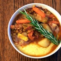 Vegan Polenta on Pinterest | Polenta, Creamy Polenta and Polenta ...