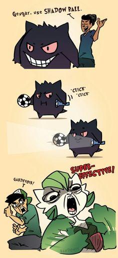A melhor Shadow Ball que você. vai ver hoje.