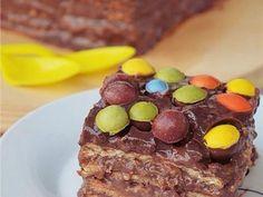 Εύκολη τούρτα σοκολάτα με μπισκότα πτι-μπερ - Imommy