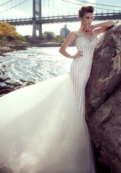 Stephen Yearick 2015 wedding dresses available at Dimitra's Bridal Couture Chicago.  www.DimitrasBridal.com.  #StephenYearick  #bridalgown #weddingdress #weddings #engaged  #beaded #sweetheart #illusion #classic #vintage #whimsical  #luxuryweddings #classicwedding #timeless #feminine #chicagobrides #chicagobridalboutiques  #romantic  #sparkle #weddinggown  #contemporary #modern #bride #brides #hautecouture #designerweddingdress #uniqueweddingdress #vintageweddings #rusticweddings