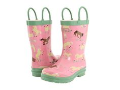 Hatley Kids Rain Boots (Infant/Toddler/Youth) Blue Flowers - Zappos.com Free Shipping BOTH Ways