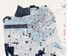 Zoning map of San Francisco, courtesy of the Urban Works Agency, California College of the Arts & OpenScope Studio/Drawing by Jeffrey Maeshiro & Cesar Lopez Appearances can be deceiving in...