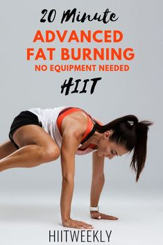 The best 20 minute advanced fat burning HIIT workout you& do this year. Ideal for weight loss. Weight Loss HIIT Workout For Women. Source by The post 20 Minute Advanced Fat Burning HIIT Workout appeared first on Roisin Health Fitness. Quick Weight Loss Tips, Weight Loss Help, Weight Loss Plans, How To Lose Weight Fast, Losing Weight, Reduce Weight, Weight Loss For Women, Weight Lifting, Kardio Workout