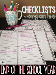 Checklist Freebies and a Giveaway!