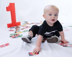 Uno Theme First Birthday Party Photo Shoot!