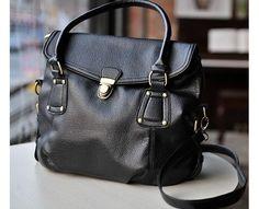 Black single buckle handbag- introductory price! $29.00