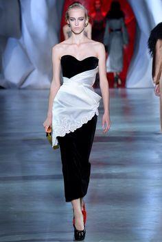 Ulyana Sergeenko Fall 2014 Couture Fashion Show - Eva Berzina (Women)